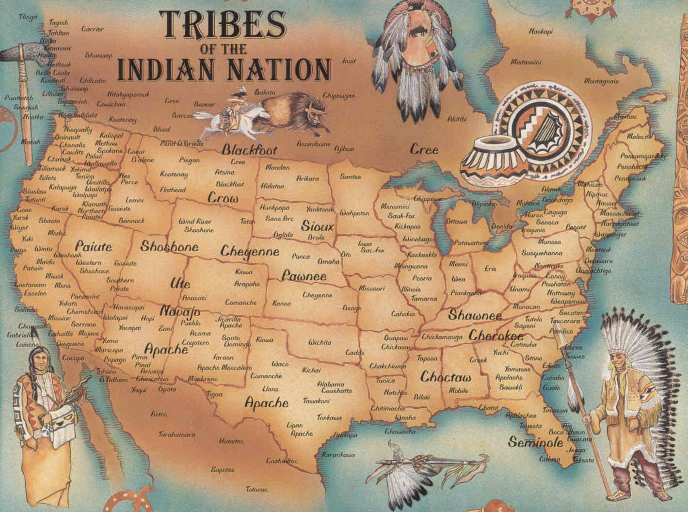 indian wars map